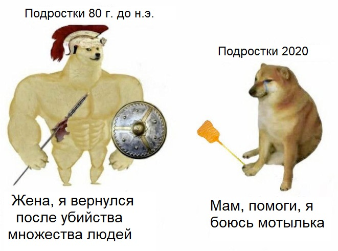 Файл:Swole Doge vs Cheems 1.jpg
