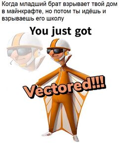 You Just Got Vectored meme #3
